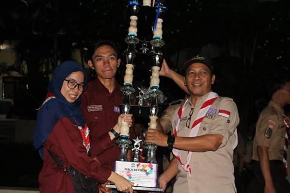 MAN 11 Jakarta Juara Umum Lomba Giat Prestasi Pramuka UIN Jakarta