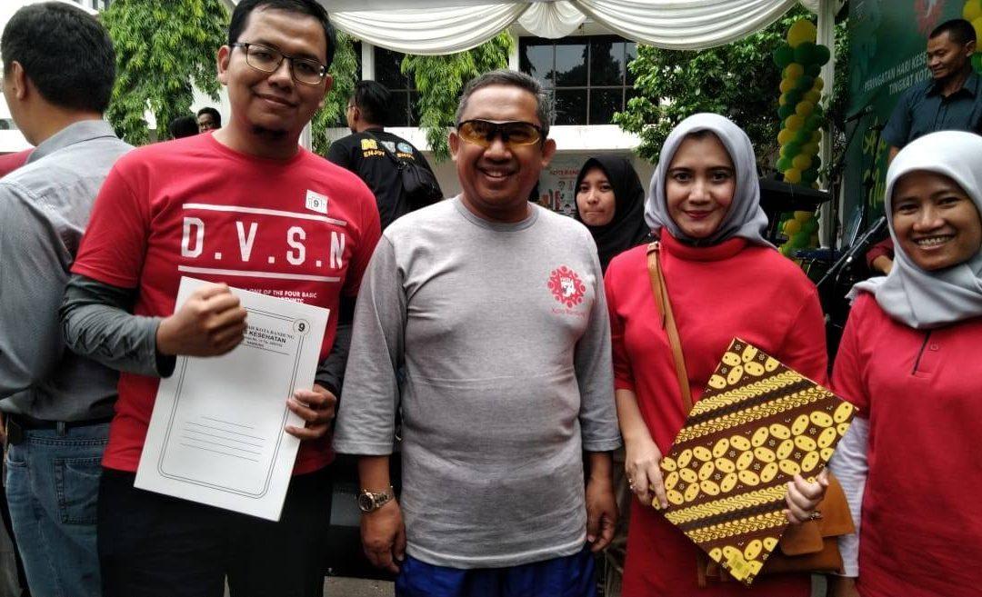 Alumni of FK UIN Jakarta won the Bandung Exemplary Doctor award 2018