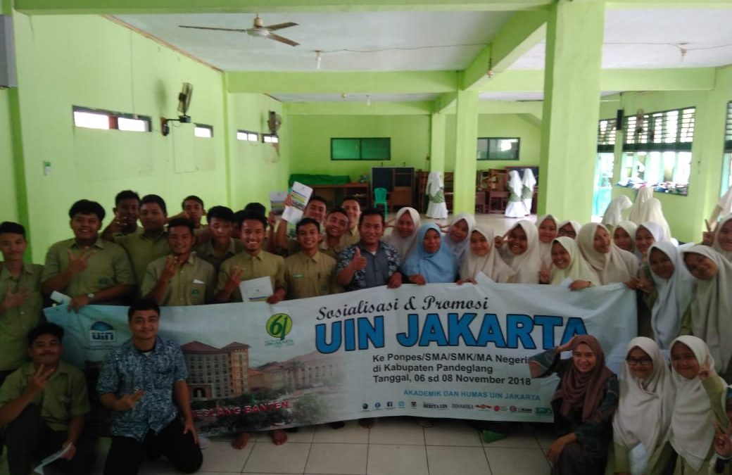 Pandeglang Students Shows Enthusiasm in Studying at UIN Jakarta