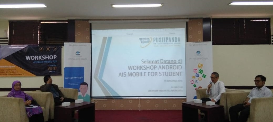 PUSTIPANDA UIN Jakarta Luncurkan Aplikasi AIS Versi Android