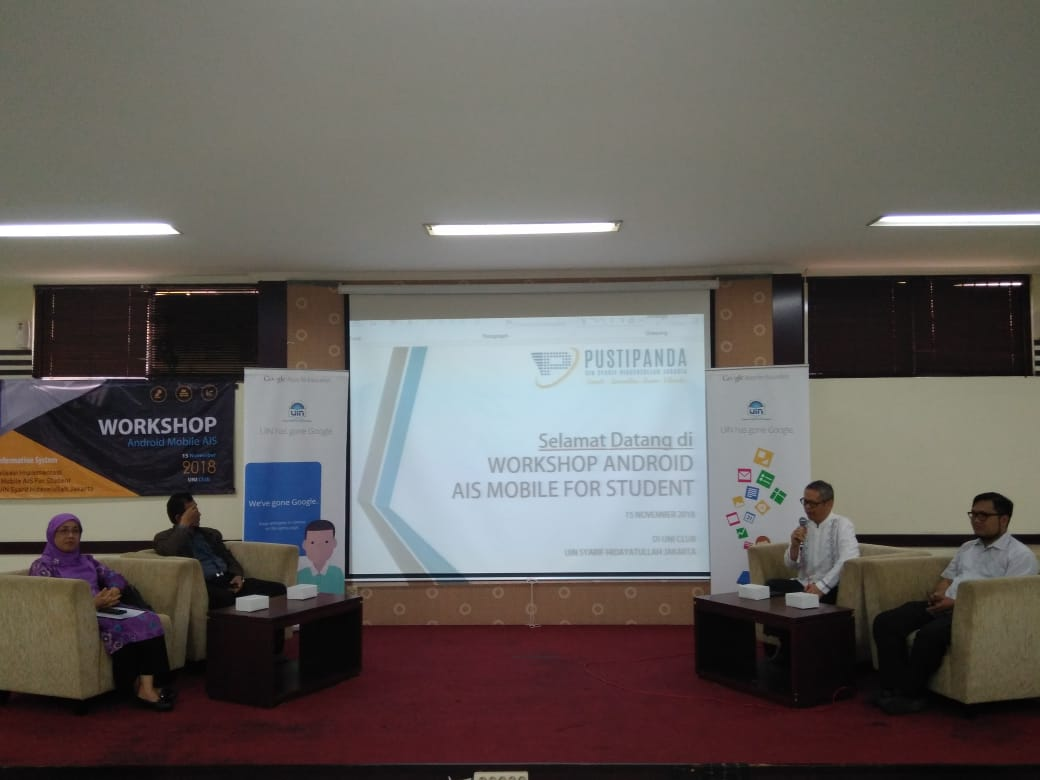 PUSTIPANDA UIN Jakarta Launches AIS Mobile App for Android