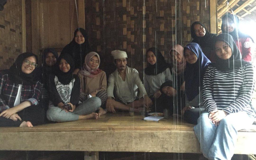 FSH UIN Jakarta Students Study of Baduy Customary Law