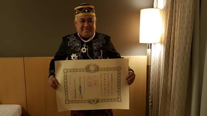 Din Syamsuddin Terima Penghargaan dari Pemerintah Jepang