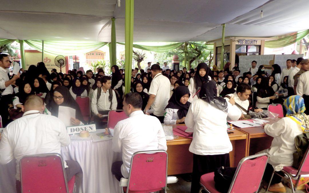 326 Peserta Ikuti Ujian Penerimaan CPNS UIN Jakarta 2018