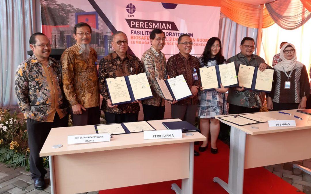 UIN Jakarta-LIPI Tandatangani MoU