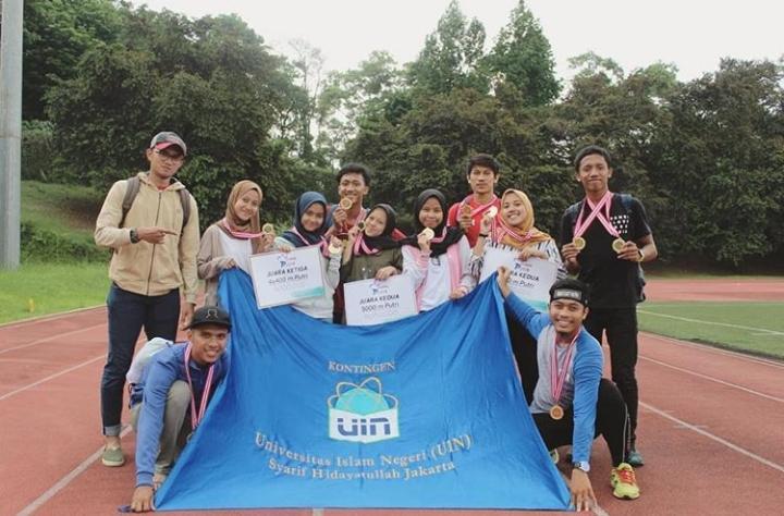 UIN Jakarta Raup 5 Medali Kejuaraan Atletik Nasional