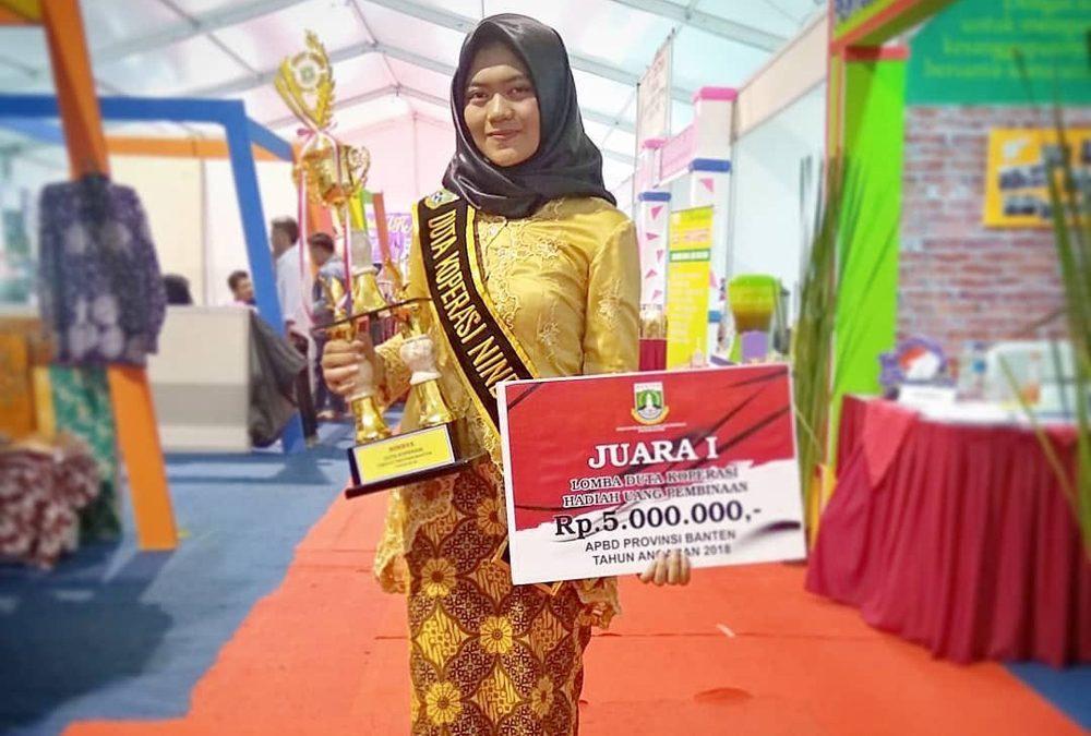 UIN Jakarta Student has been Elected as the 2018 Banten Province Cooperative Ambassador