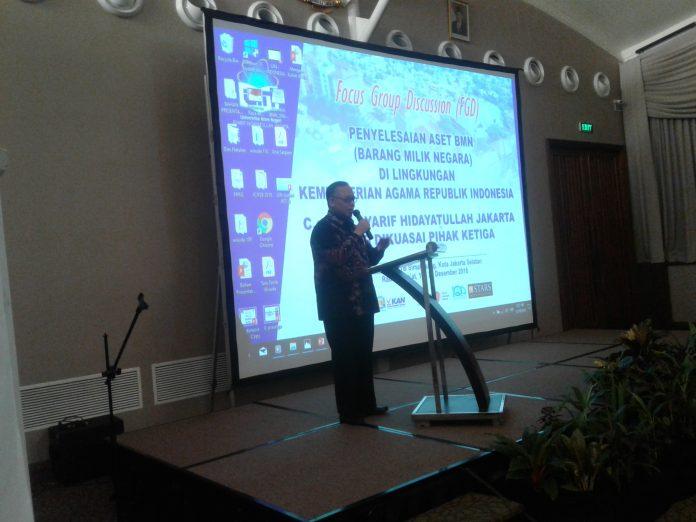 UIN Jakarta Gelar FDG tentang Penyelesaian Aset BMN