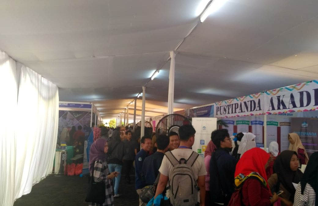 Baru Dibuka, Pameran Pendidikan 2019 UIN Jakarta Banjir Pengunjung