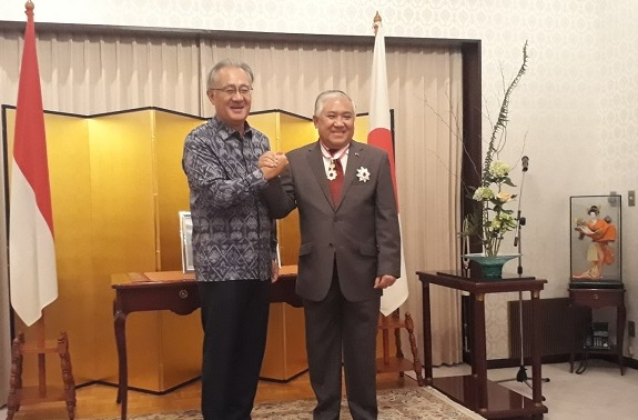 Rector Attend Japanese Ambassador Award Reception for Din Syamsudin