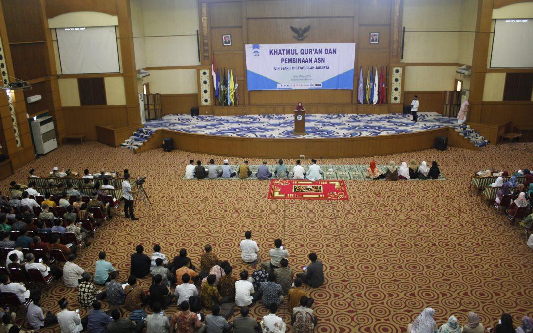 UIN Jakarta Holds Khatmul Qur'an