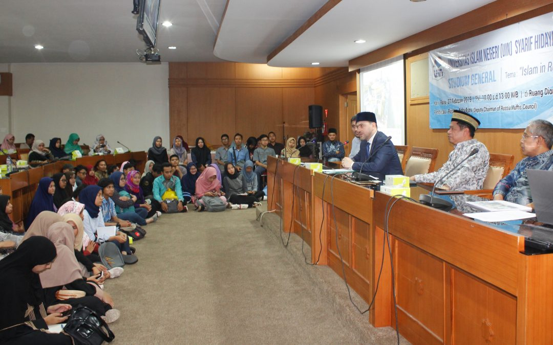 UIN Jakarta holds public lecture by Russia's Deputy Chairman of the Muftis Council
