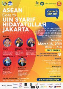 ASEAN goes to UIN Syarif Hidayatullah Jakarta @ Harun Nasution Auditorium
