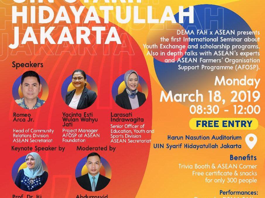 ASEAN goes to UIN Syarif Hidayatullah Jakarta