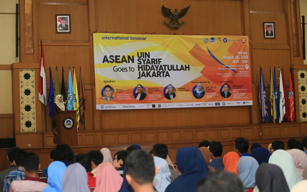 DEMA FAH UIN Jakarta – ASEAN holds international seminar on youth exchange and scholarship programs