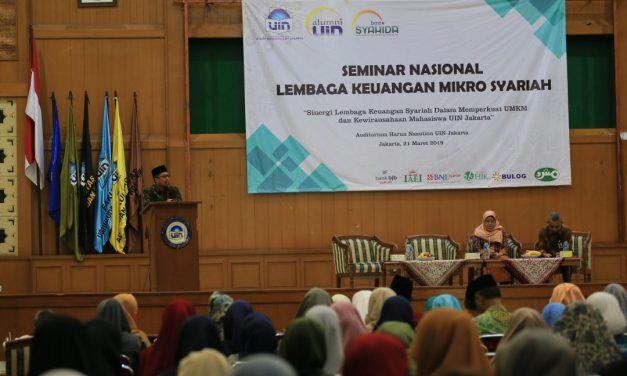 BMT Syahida IKALUIN holds national seminar on Islamic Microfinance