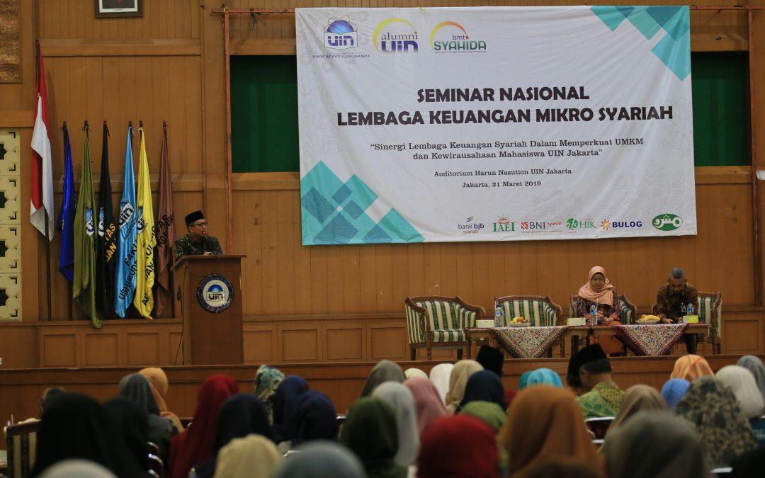 Dorong Wirausaha, BMT Syahida IKALUIN Sosialisasikan Sumber Pembiayaan Usaha