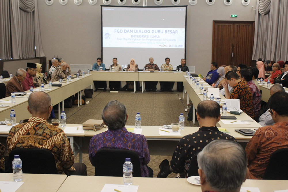 UIN Jakarta holds discussion on the integration of science