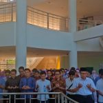 Academic community of FIKES UIN Jakarta holds Salat al-Gha'ib for Christchurch shootings and Sentani flash flood disaster victims
