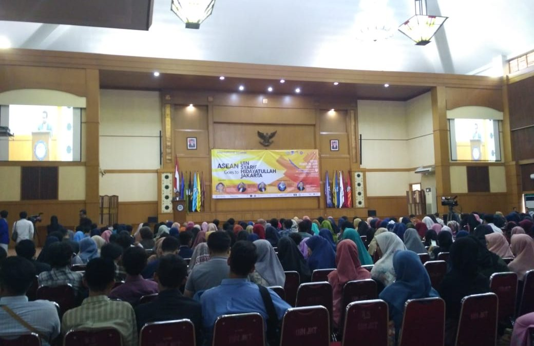 DEMA FAH Helat Acara ASEAN Goes to Campus