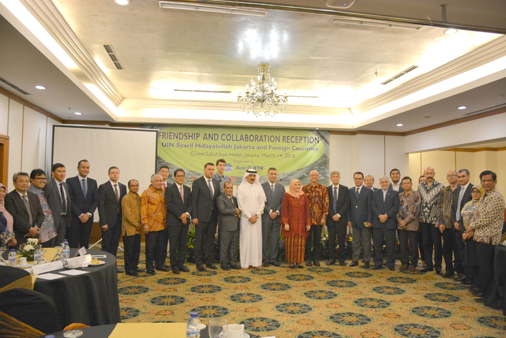 To strengthen international cooperation, UIN Jakarta holds friendship and cooperation reception event