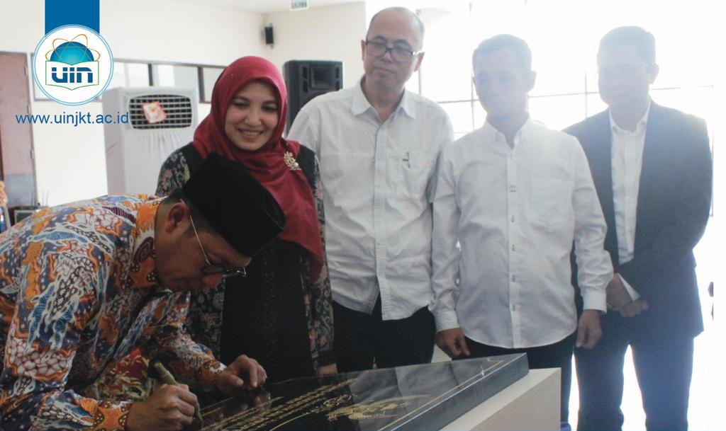 رسميا وزير الشؤون الدينية يفتتح مبنى PPG فى UINجاكرتا