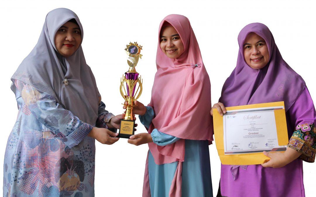 Mahasiswa FDI UIN Jakarta Peroleh Dua Penghargaan