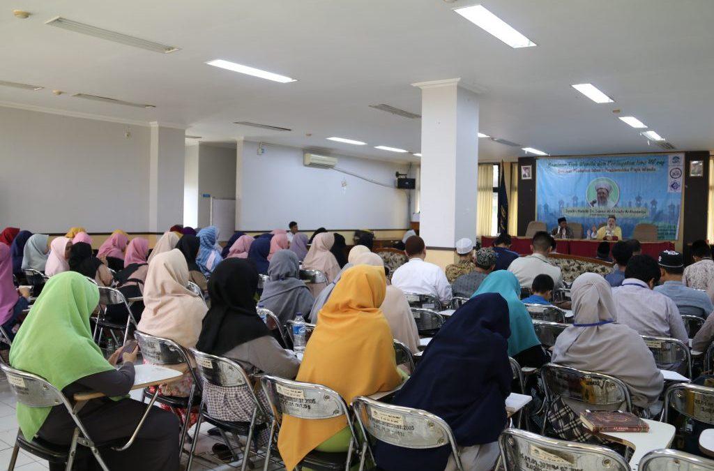 Isi Peringatan Isra Mi'raj, DEMA FDI Gelar Seminar Fiqih Wanita