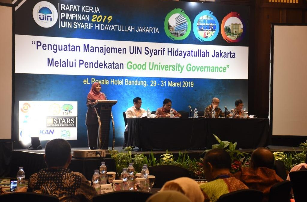 Leaders of UIN Jakarta agree to realize the IKUs