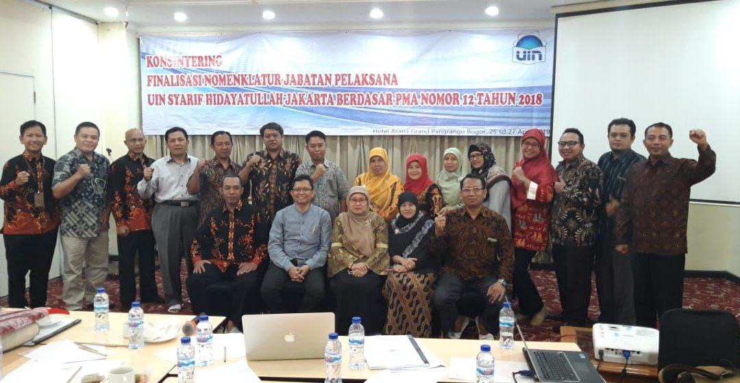 OKP Gelar Konsinyering Finalisasi Nomenklatur Jabatan Pelaksana