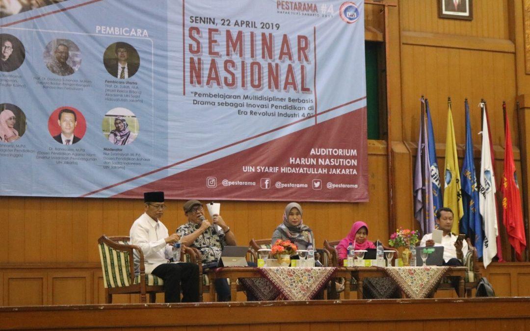 PBSI UIN Jakarta Gaungkan Drama sebagai Inovasi Pendidikan