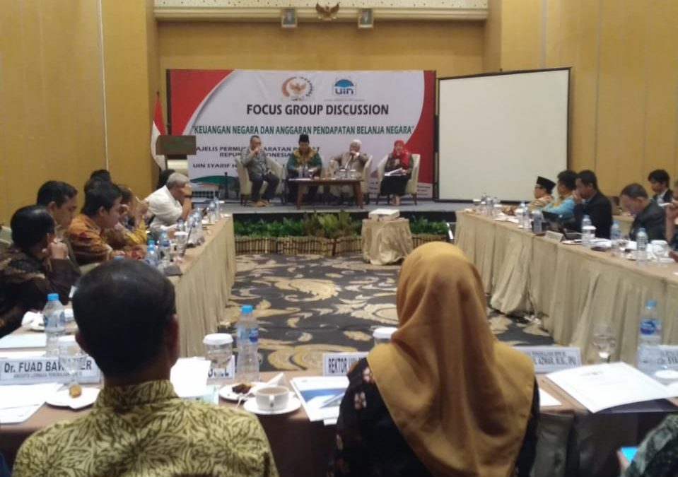 UIN Jakarta-MPR RI holds FGD on state finance and APBN