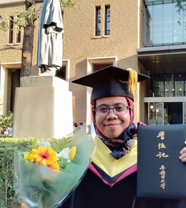 Dari Universitas Waseda, Suma'inna Raih Gelar Doktor Matematika