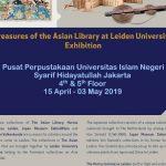 UIN Jakarta-Leiden University will organize exhibition