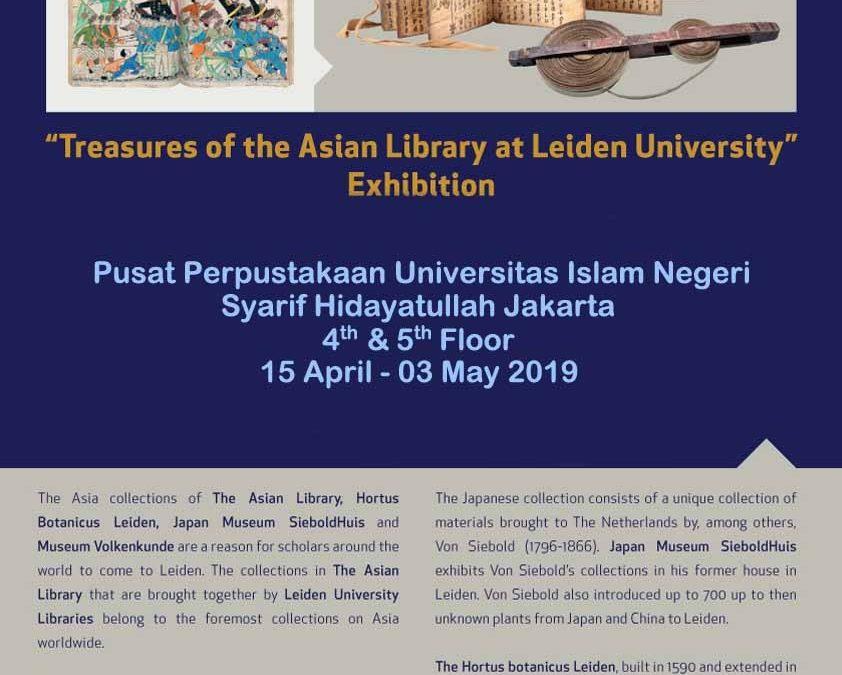 Pekan Depan, Perpustakaan UIN Jakarta-Universitas Leiden Gelar Pameran Kepustakaan