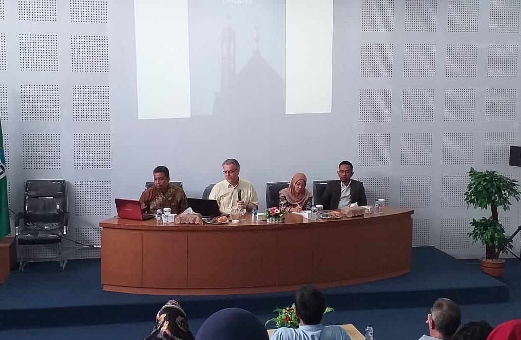 FAH Sajikan Seminar tentang Relasi Islam-Kristen