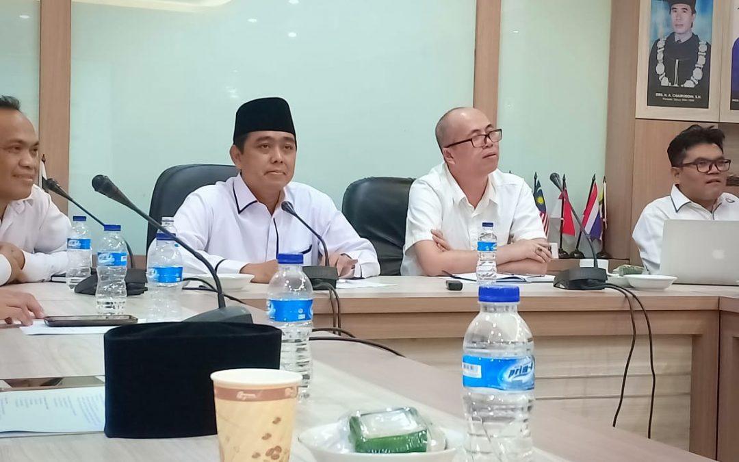 FSH Lakukan Rapat Koordinasi Persiapan Assesment AUN-QA