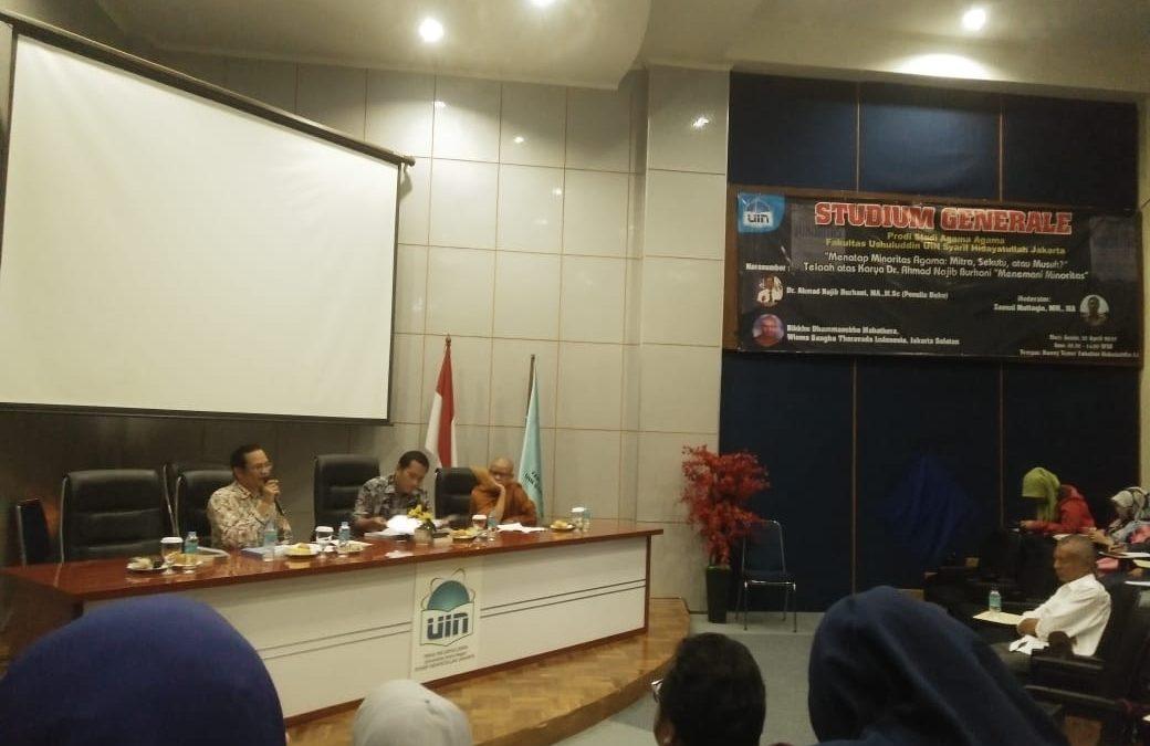 FU UIN Jakarta holds studium generale on minority rights