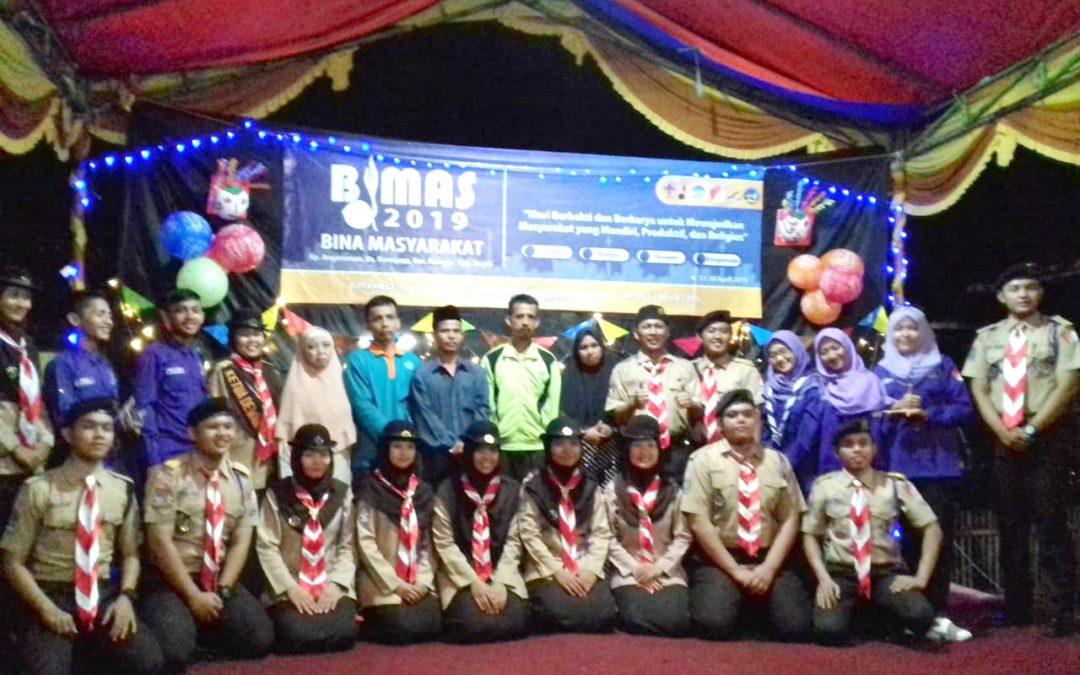 Pramuka UIN Jakarta Gelar Bina Masyarakat di Bogor