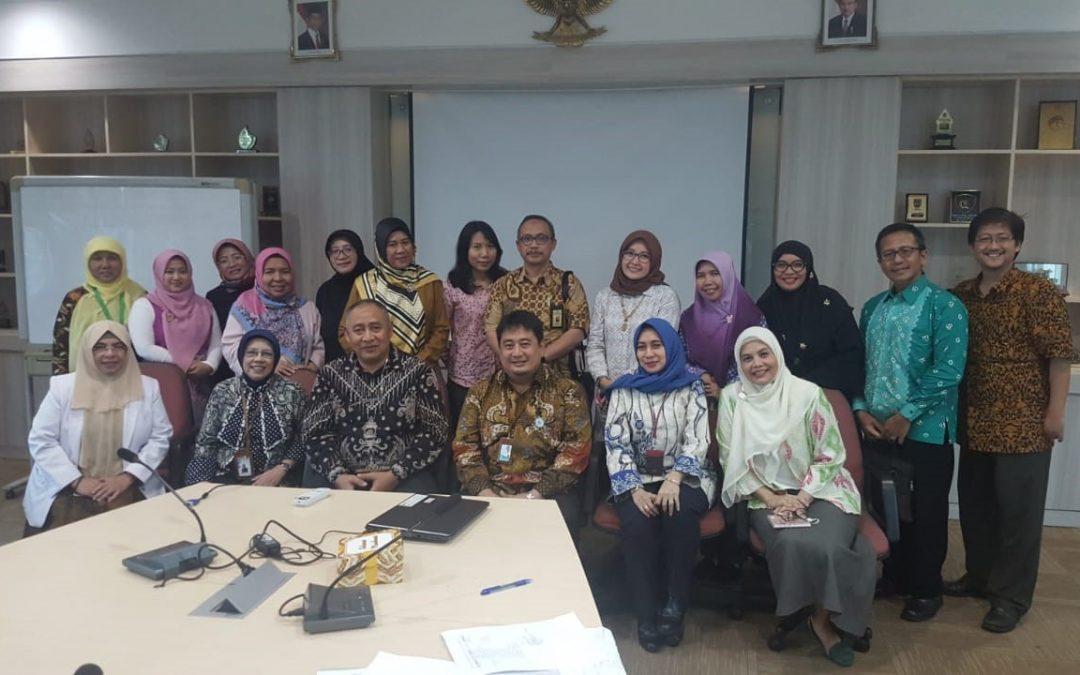 FK UIN Jakarta-RSUP Fatmawati Lakukan Rapat Perdana Komkordik