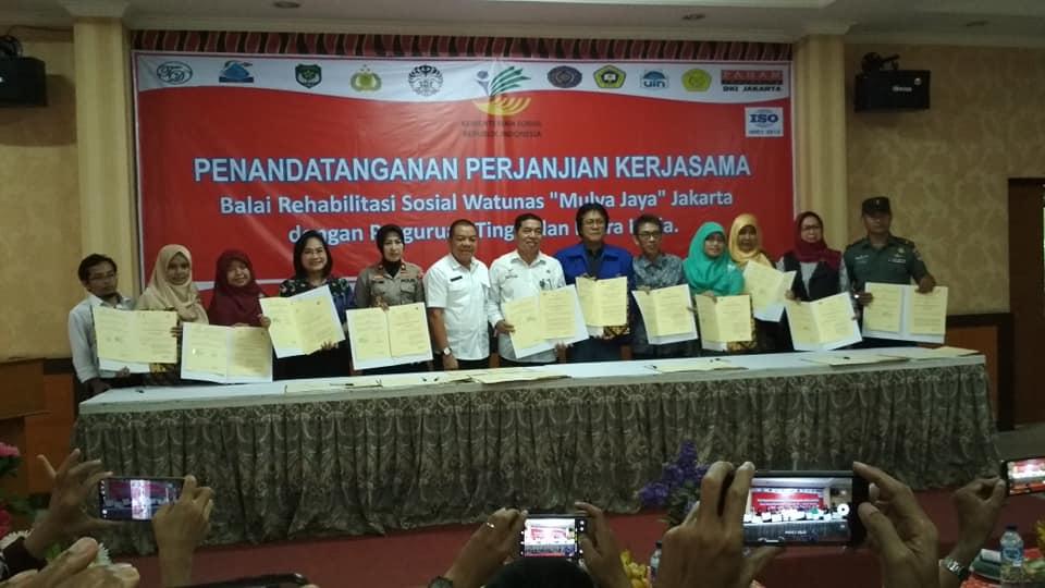 Fostering human trafficking victims, Balai Watunas Mulya Jaya Teams Up with BPI and Kesos UIN Jakarta