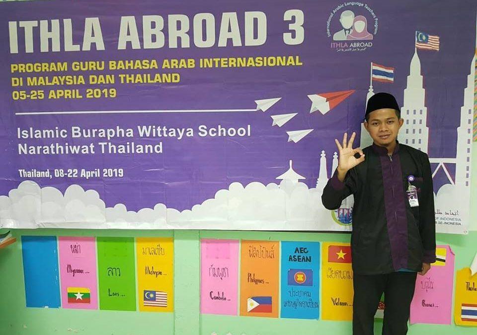 Mahasiswa FDI Ikuti Program ITHLA Abroad 2019 di Thailand