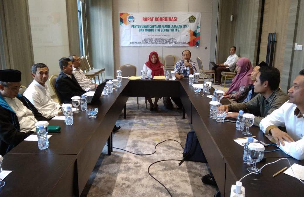 UIN Jakarta Pelopori Penyusunan Modul PPG PAI