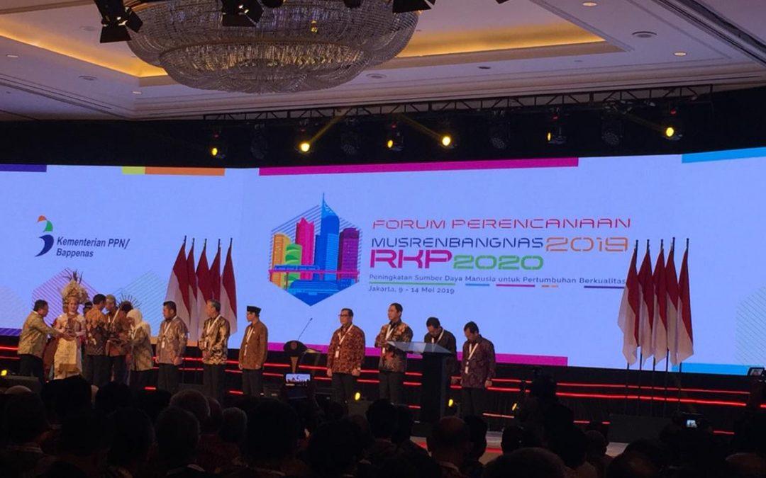 Rektor Amany Lubis Hadiri Musrenbangnas Kementerian PPN/Bappenas