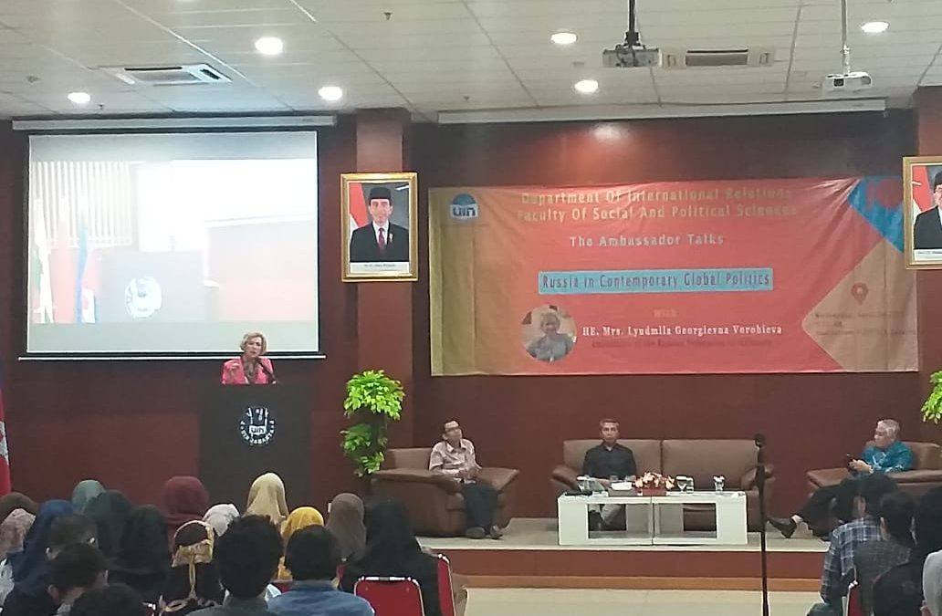 FISIP UIN Jakarta holds public lecture on Russia's contemporary global politics