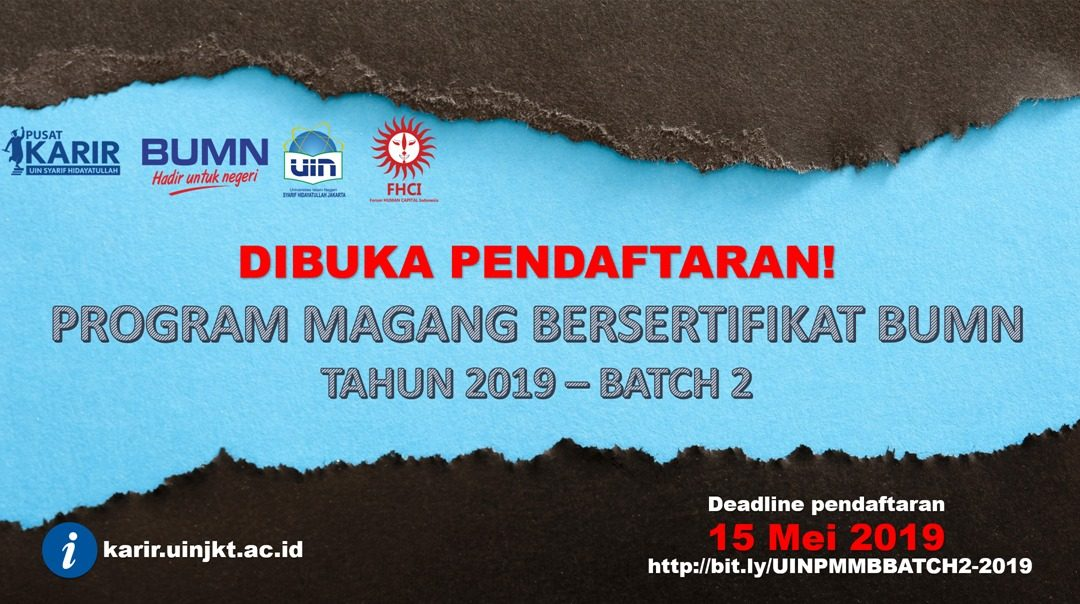 UIN Jakarta Buka Kesempatan Mahasiswa Magang Bersertifikat BUMN Batch 2