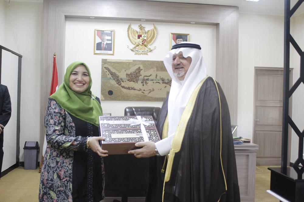 Saudi Arabia Ambasaddor to Indonesia visits UIN Jakarta