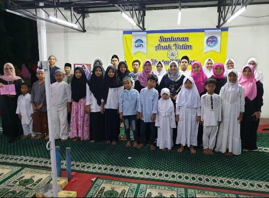Rektor Amany Lubis Buka Puasa Bersama Anak Yatim