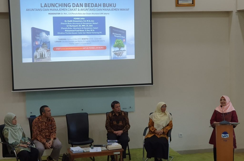 FEB UIN Jakarta holds book launch and review