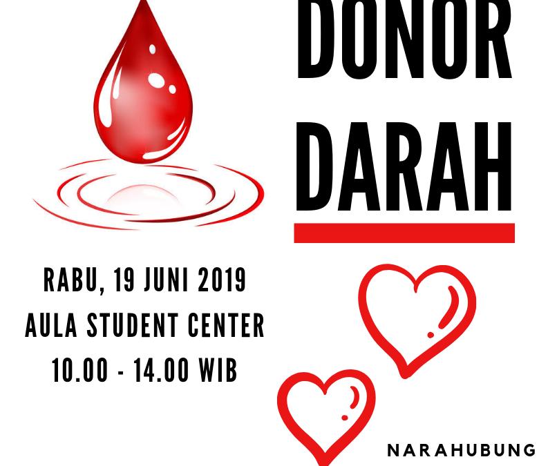 Kembali, KSR PMI UIN Jakarta Akan Gelar Donor Darah